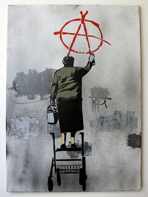 Image by Banksy, Public Domain